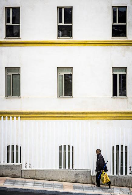 Uso aislado del color, foto de Carlos Larios