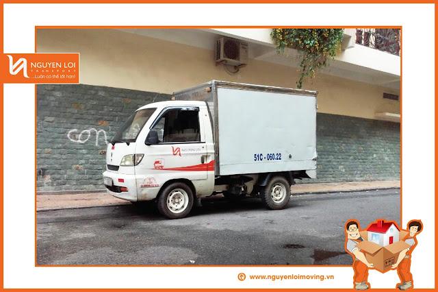Xe tải chuyển văn phòng Nguyên Lợi