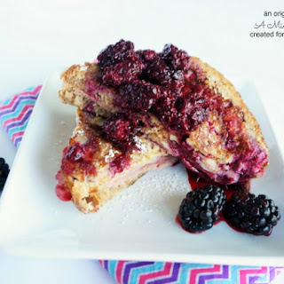 Monte Cristo with Fresh Blackberry Sauce
