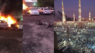 Bom Madinah, Menewaskan 2 Petugas Keamanan