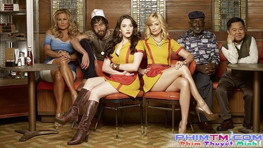 Xem Phim 2 Nàng Bá Đạo 6 - 2 Broke Girls Season 6 - phimtm.com - Ảnh 1