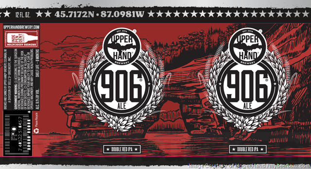 Upper Hand Brewery Adding Deer Camp, 906 Ale & Double Ringer Cans