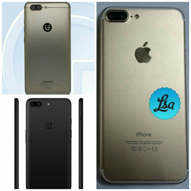 Leaked Images Of The One Plus 5 Smartphone Look Like The iPhone 7plus 3