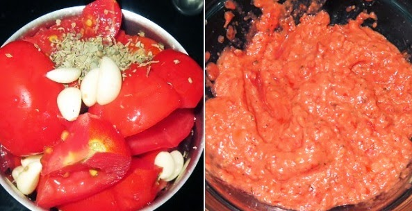 Homemade Passata Sauce Recipe| Italian Onion Tomato paste from scratch