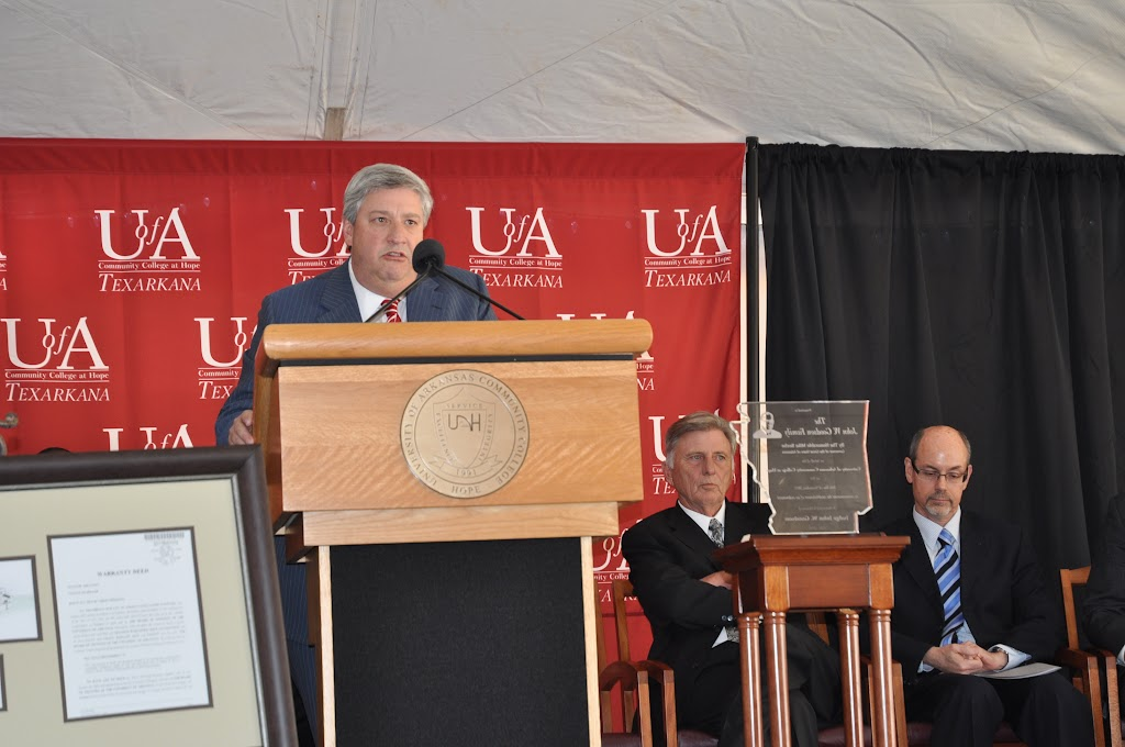 UACCH-Texarkana Creation Ceremony & Steel Signing - DSC_0188.JPG