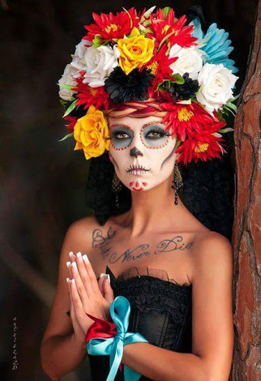 +22 Cool Hairstyles Ideas from Mexican Catrinas 2018 5
