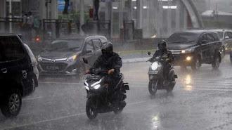 Waspada ! BMKG Keluarkan Peringatan Dini Cuaca Ekstrem Sepekan ke Depan