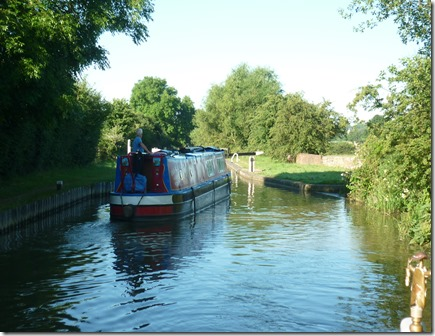 1 another early riser enters slat mill lock