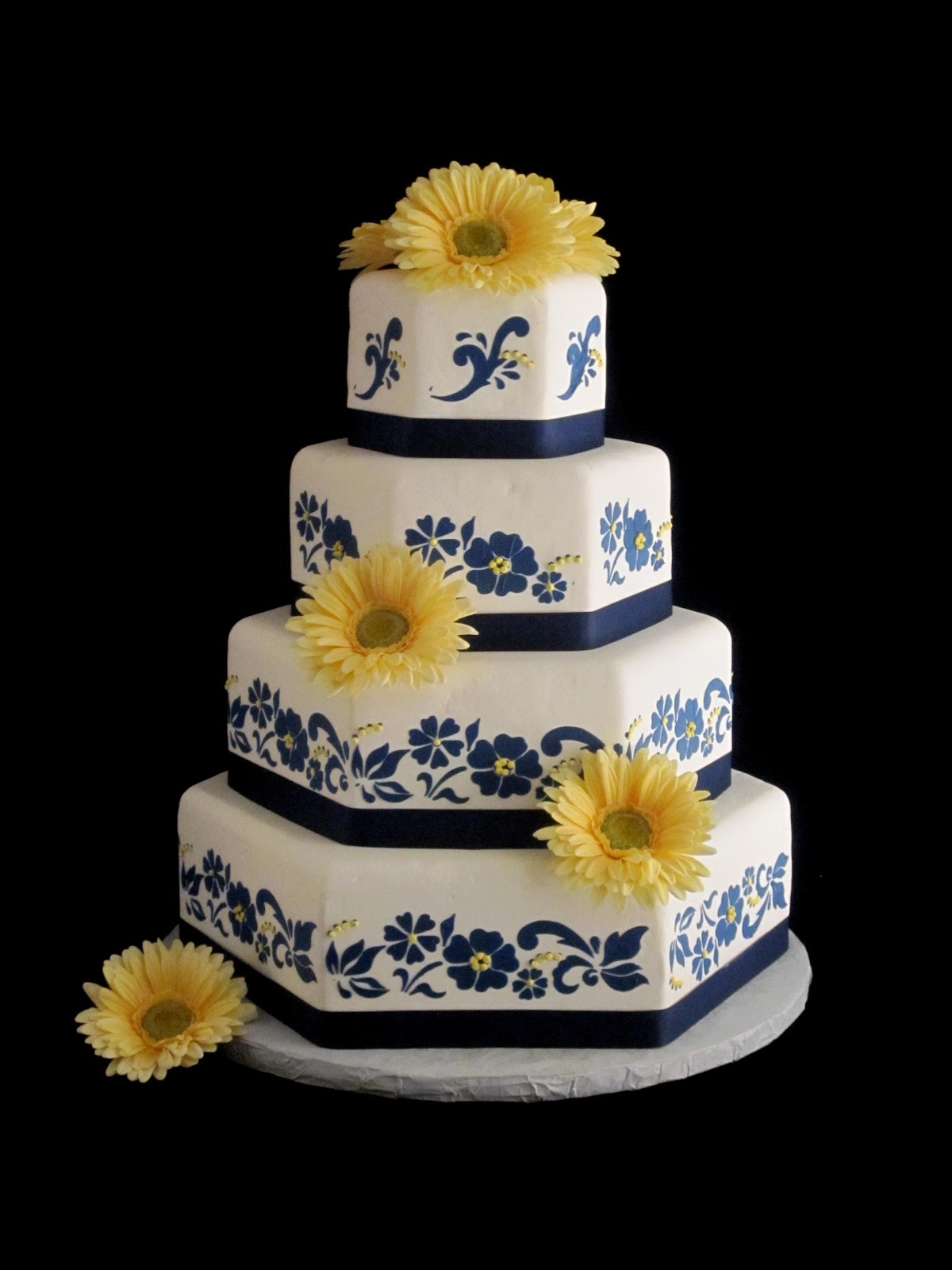 wedding cakes navy blue and yellow navy cakes cake ideas and designs 25069