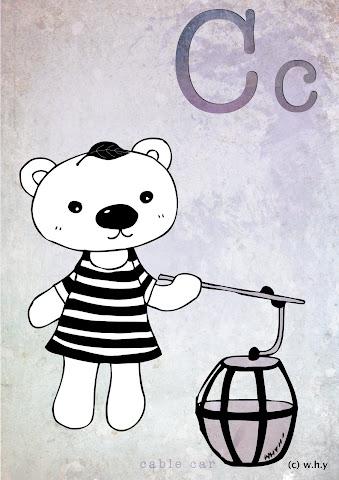 Cable Car Bear