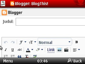 compose blogthis