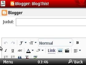 compose blogthis