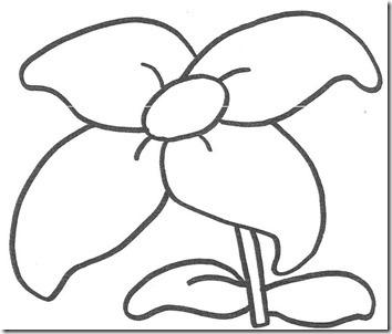 Flores Grandes De Primavera Para Colorear Colorear Tus Dibujos