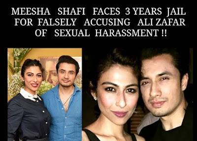Pakistani singer Meesha Shafi faces 3 years jail