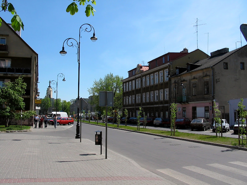 Widok na ulicę Sienkiewicza