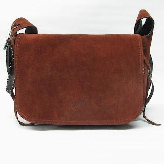 Coach Suede Messenger Bag