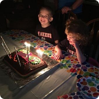 Twins 3rd Birthday