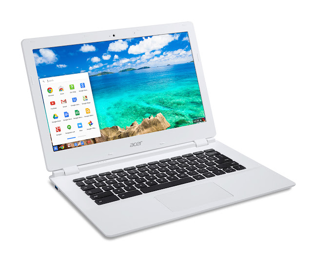 The Chromebook is the perfect device for people that has moved on from traditional computing