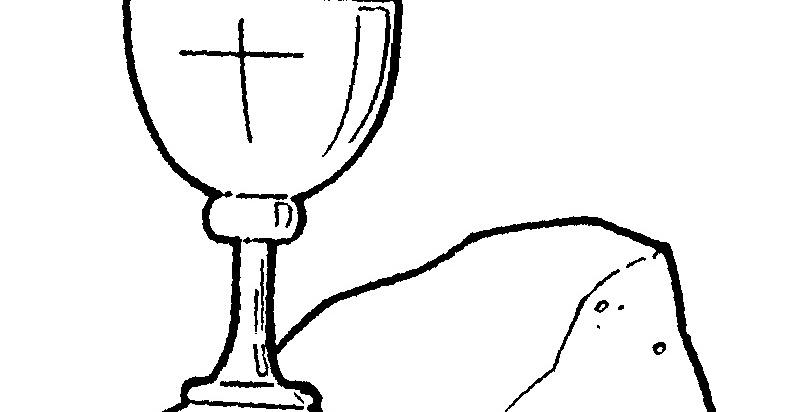 Dibujos Religiosos Para Colorear E Imprimir: Dibujos Católicos : Imagenes Del Pan Y Vino Consagrados