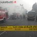 Kebakaran di Jalan RA Kosasih Ciaul Sukabumi, Akses Jalan Ditutup