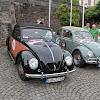 Vor dem Schloss stand eine ganze Flotte Fahrzeuge aus der VW Classics Garage