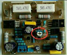 cara setting BIAS dan DCO driver power amplifier