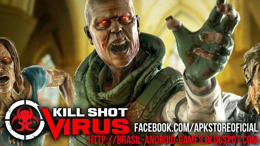 Download Kill Shot Virus v1.3.1 APK + MOD MUNIÇÃO INFINITA - Jogos Android