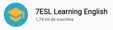 15 canais do YouTube para aprender inglês com falantes nativos -  7ESL Learning English