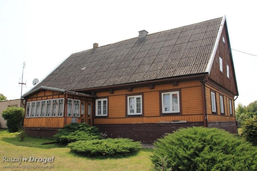 Dom drewniany w Nowej Kościelnicy