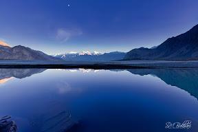 Calmness at Indus River Skardu