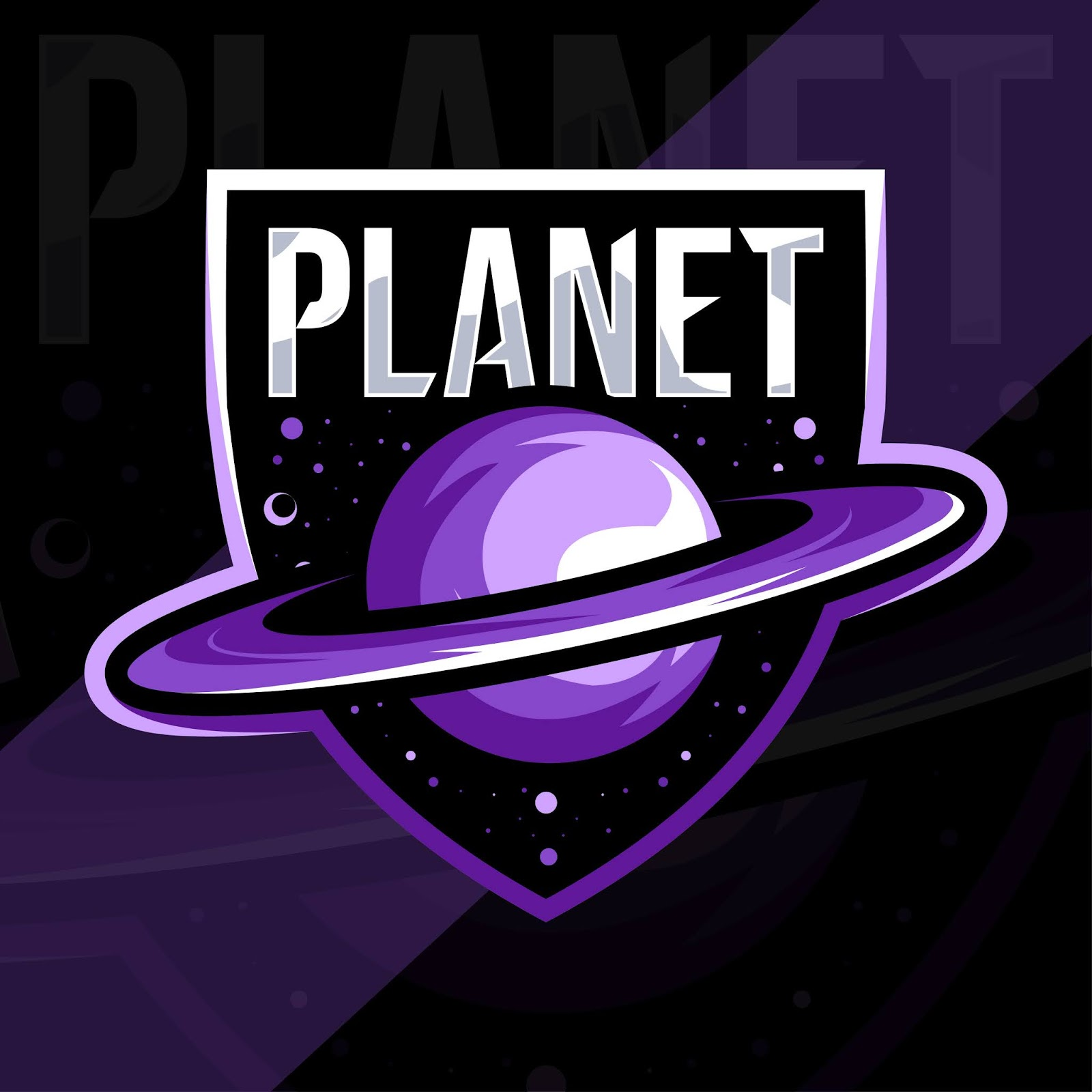 Planet Mascot Logo Esport Template Free Download Vector CDR, AI, EPS and PNG Formats