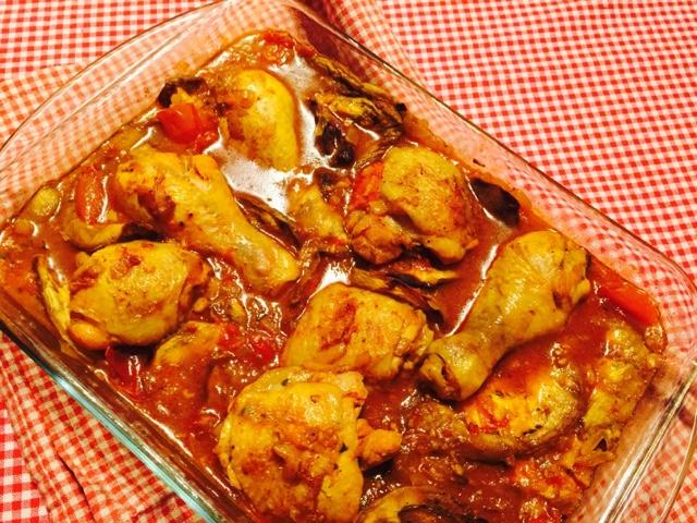 Khoresh Bademjan Persian Eggplant Tomato And Chicken Stew
