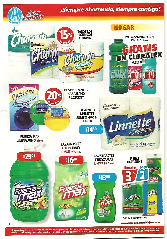 Flyer Farmacias Guadalajara: Danup, Galletas, Cereal, Pull