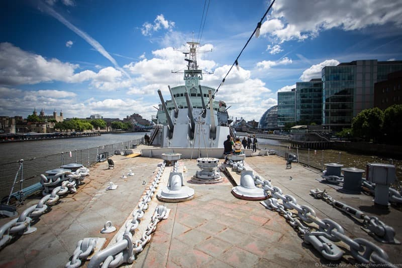 London Military Museums - HMS Belfast London