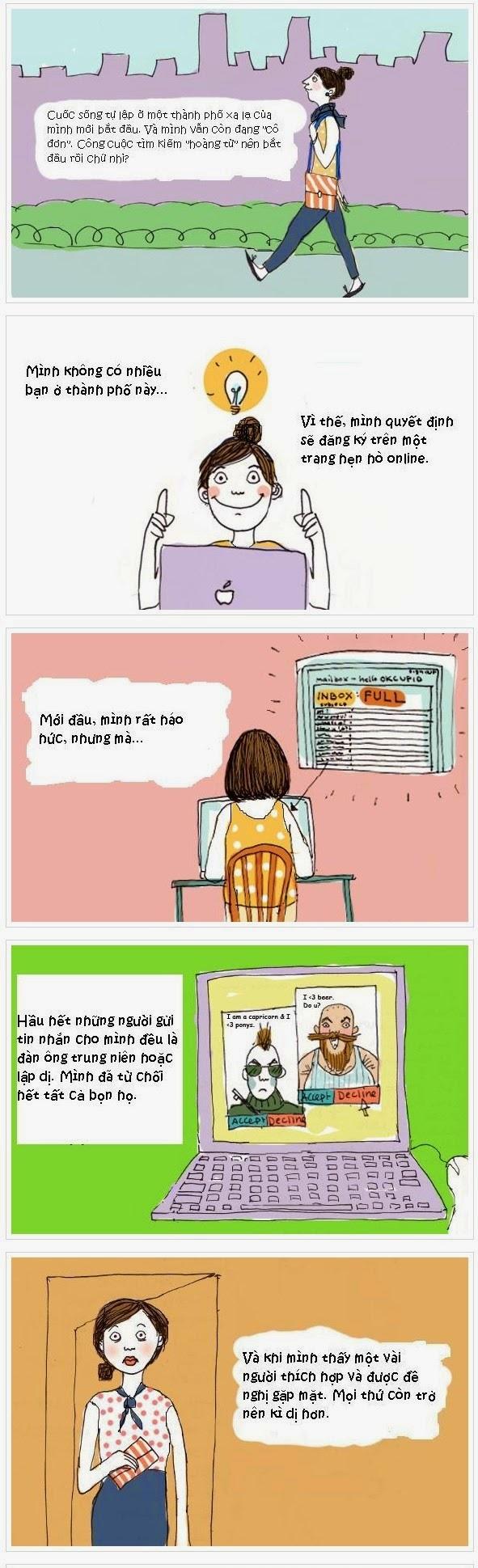 Đừng bao giờ tin vào những tình yêu online (y)