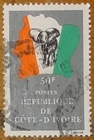 timbre Côte d'Ivoire 005