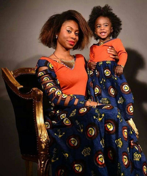 Lovely Pictures of Ankara designs for a child (2)
