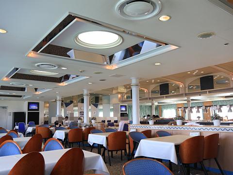 商船三井フェリー「さんふらわあ ふらの」 Aデッキ レストラン