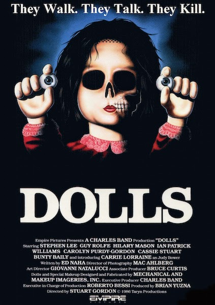 "The ""Dolls"" poster"