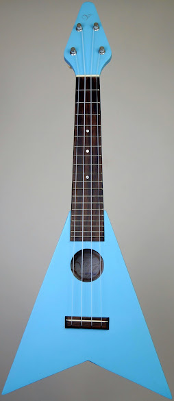 Vineyard Flying V Soprano Ukulele Corner
