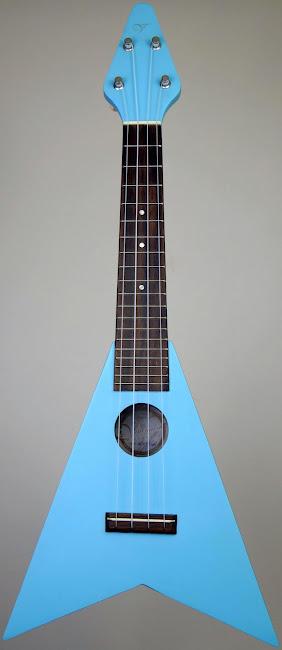 Vineyard Flying V Soprano ukulele
