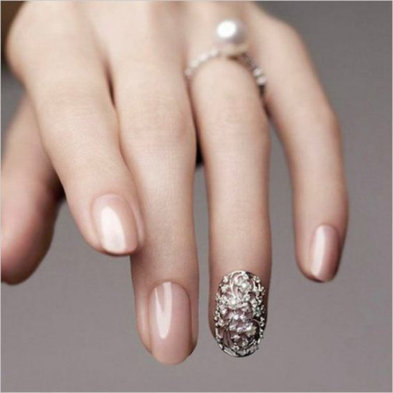 Cute And Simple Nail Designs For Short Nails 2018 7