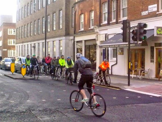 En bici por Londres