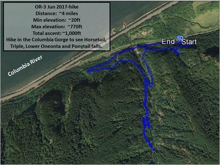 Columbia Gorge-3 Jun 2017-hike