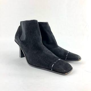 *SALE* Chanel Square Toe Boots