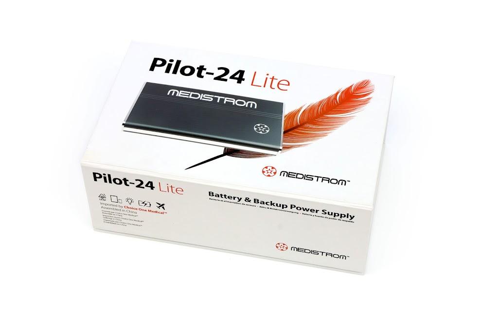 Medistrom Pilot-24 Lite - bateria i zasilanie awaryjne dedykowane dla ResMed AirMini i AirSense