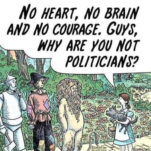 Politicians of Oz