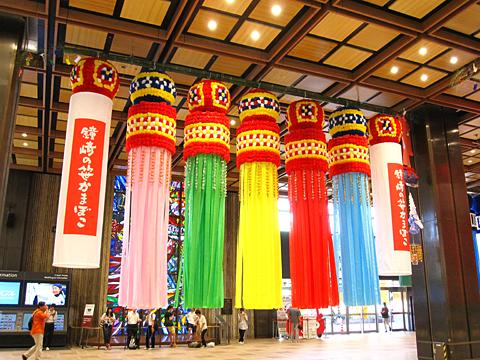 JR仙台駅 七夕飾り