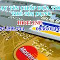 Vay tín chấp dựa theo thẻ tín dụng