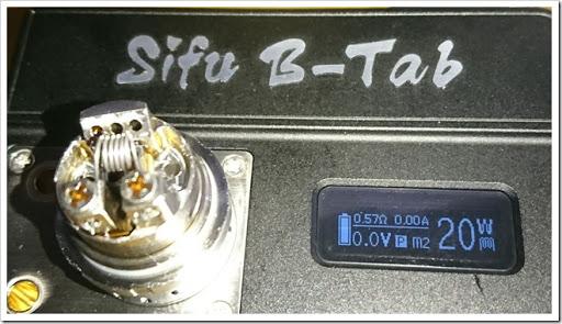 DSC 0849 thumb%25255B3%25255D - 【ビルド】「Youde UD Sifu B-TAB(シーフー)」ビルド&ドライバーン台レビュー!